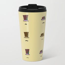 Hats & Moustaches Travel Mug