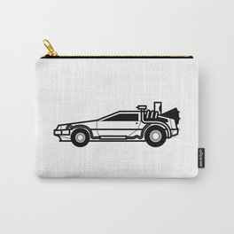 DeLorean Time Machine Carry-All Pouch