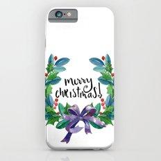 Merry Christmas Crown Slim Case iPhone 6s