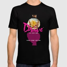 Drive Video Game Mens Fitted Tee Black MEDIUM
