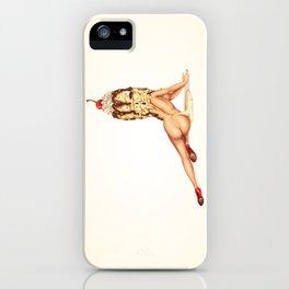 Ice Cream Girl 1 iPhone Case