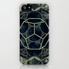 Sacred Geometry for your daily life -  Platonic Solids - ETHER iPhone Case