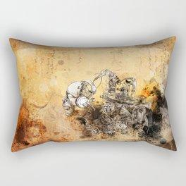 Remix soul Rectangular Pillow
