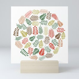 Colorful branches 1 Mini Art Print