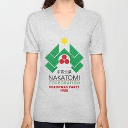 Nakatomi Corporation - Christmas Party Unisex V-Neck