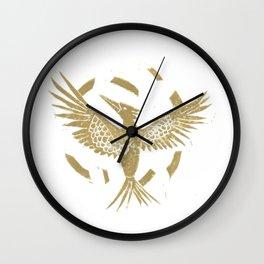 Mocking jay 2 Wall Clock