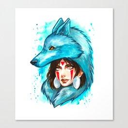 princess mononoke studio ghibli Canvas Print
