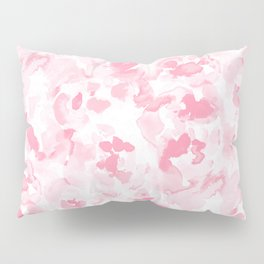 Abstract Flora Millennial Pink Pillow Sham