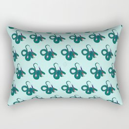 Funky dragons Rectangular Pillow