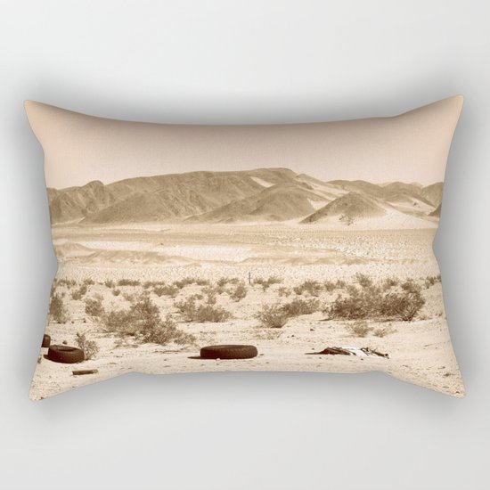 Desolation Rectangular Pillow