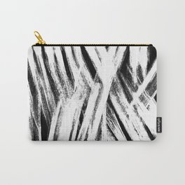 White brush Carry-All Pouch