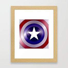 shield Framed Art Print
