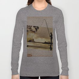 Vintage photo collage #213 Long Sleeve T-shirt