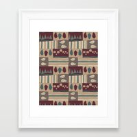 quilt Framed Art Prints featuring Quilt by Molly Smisko