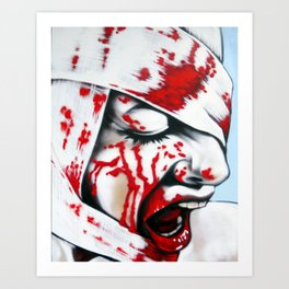 Shock Therapy Art Print