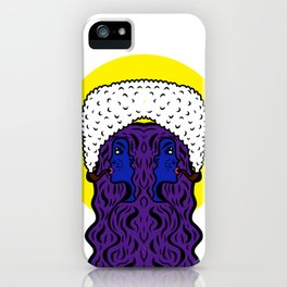 Gemini Goddesses iPhone Case