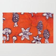 mushroom batik Rug