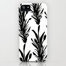 Black Leaves iPhone (5, 5s) Slim Case
