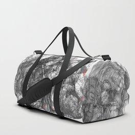SOLVE et COAGULA.  Triptych. Duffle Bag