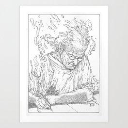 Moebius Art Print