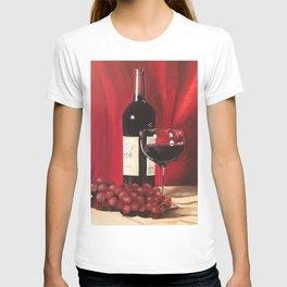 Red Wine, Still Life T-shirt