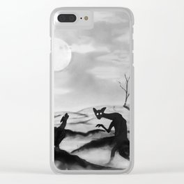 Nightmare Clear iPhone Case