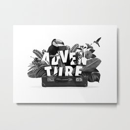 Incase of adventure Metal Print