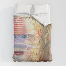 White Dreamer Comforters