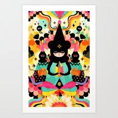Magical Friends Art Print