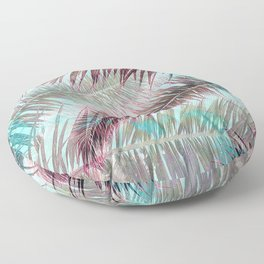 Lost in Paradise Floor Pillow