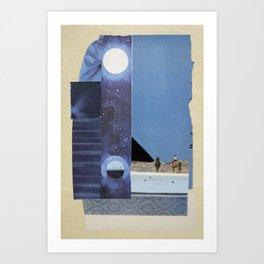 Synchronized Art Print