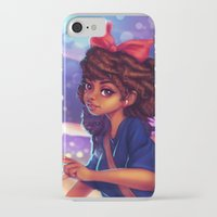 kiki iPhone & iPod Cases featuring Kiki by RSArts