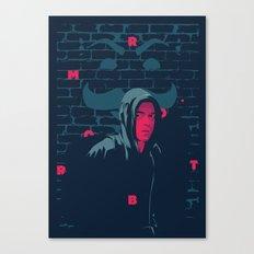 Mr. Robot - series poster Canvas Print