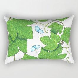 Grape Leaves Rectangular Pillow