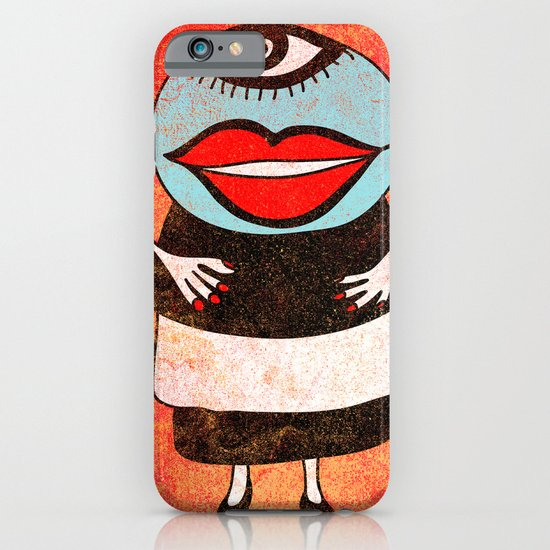 Miss One Eye iPhone & iPod Case