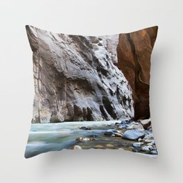 The Narrows Throw Pillow