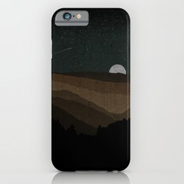 Moonrise (Sepia) iPhone Case