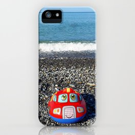 Postcard from the sea iPhone Case