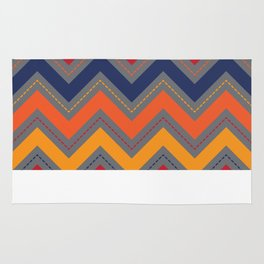Favorite Colors Chevron Rug