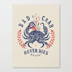 Bad crab Canvas Print