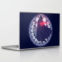 darth vader Laptop & iPad Skins featuring Darth Vader  by NicoleGrahamART