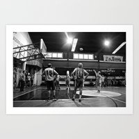 chile Art Prints featuring Basketball Chile by The Missionary Photographer