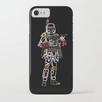 boba iPhone & iPod Cases featuring Boba Font by Fabian Gonzalez