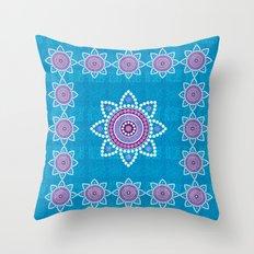 Asian ornament Throw Pillow