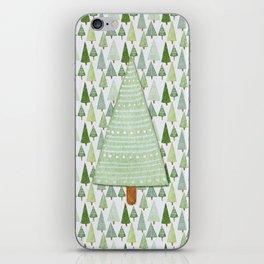Pine Collage iPhone Skin