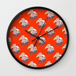 Slayer Cartoon Logo Wall Clock