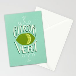 Citron Vert (Lime) Stationery Cards