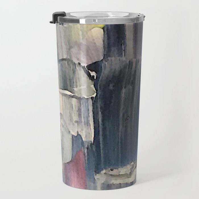 Drenched in Rain-Wrapped Shadows Travel Mug