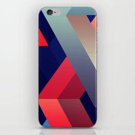 geometric abstract II iPhone Skin