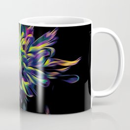 Rainbow Floral Coffee Mug